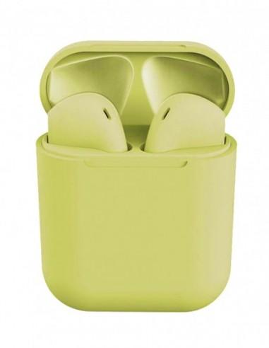Auriculares Bluetooth Air Plus (Amarillo)