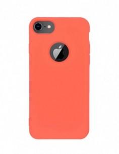 Funda Silicona Suave tipo Apple Clementina para Apple iPhone 7