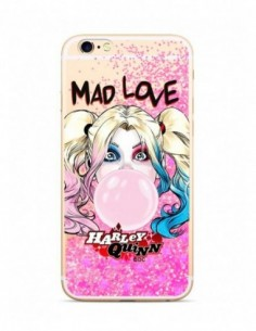 Funda Dc Comics Harley Quinn Purpurina Rosa para Apple iPhone XS