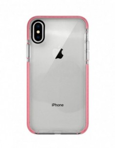 Funda Alto Impacto Rosa para Apple iPhone X