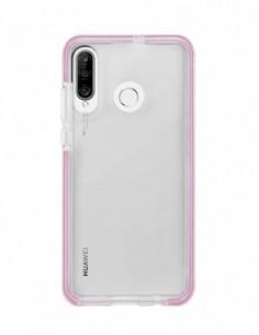 Funda Alto Impacto Rosa para Huawei P30 Lite