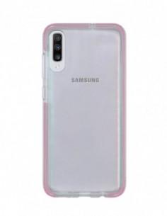 Funda Alto Impacto Rosa para Samsung Galaxy A70