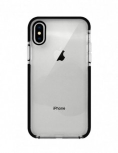 Funda Alto Impacto Negra para Apple iPhone X