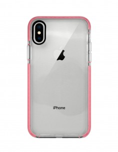 Funda Alto Impacto Rosa para Apple iPhone XS