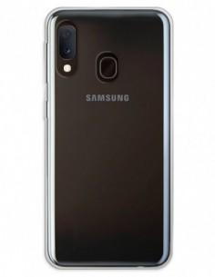 Funda Doble completa transparente para Samsung Galaxy A20E