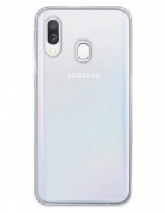 Funda Doble completa transparente para Samsung Galaxy A40