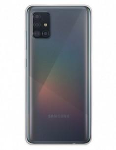 Funda Doble completa transparente para Samsung Galaxy A51