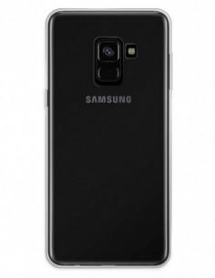 Funda Doble completa transparente para Samsung Galaxy A8 (2018)