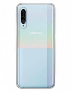 Funda Doble completa transparente para Samsung Galaxy A90 5G