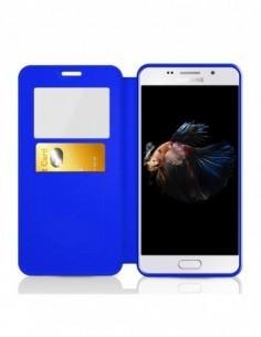 Funda HTC One M8 - Mandala Azul
