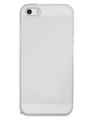 Funda Gel Silicona Liso Mate para Apple iPhone 5