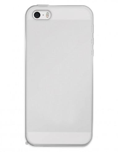 Funda Gel Silicona Liso Mate para Apple iPhone 5S
