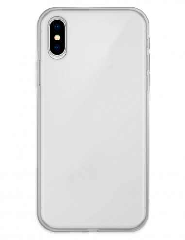 Funda Gel Silicona Liso Mate para Apple iPhone X