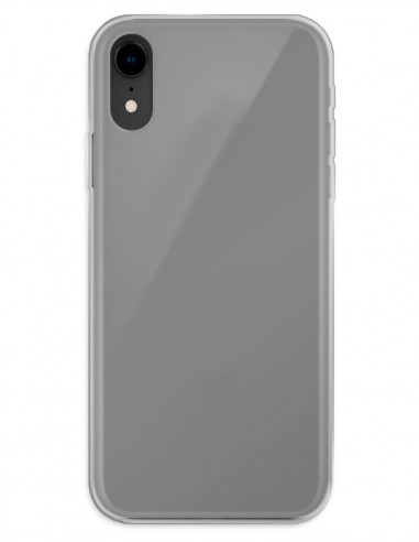 Funda Gel Silicona Liso Mate para Apple iPhone XR