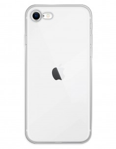 Funda Gel Silicona Liso Transparente para Apple iPhone SE (2020)
