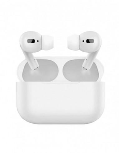 Auriculares Bluetooth Air Pro Color Caramelo Blanco