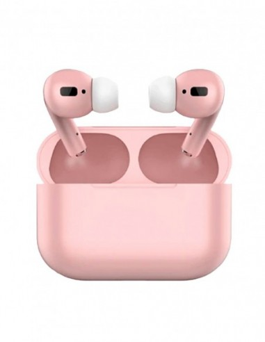 Auriculares Bluetooth Air Pro Color Caramelo Rosa