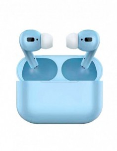 Auriculares Bluetooth Air Pro Color Caramelo Turquesa