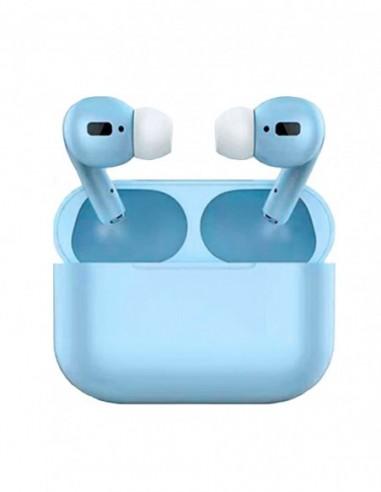 Auriculares Bluetooth Air Pro Color Caramelo Turquesa