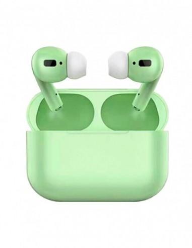 Auriculares Bluetooth Air Pro Color Caramelo Verde