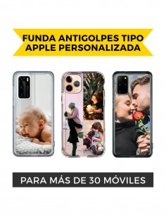 Funda Antigolpes tipo Apple Personalizada