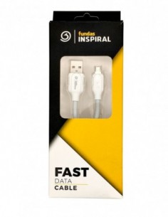 Cable USB 2.0 A a Micro USB B Blanco