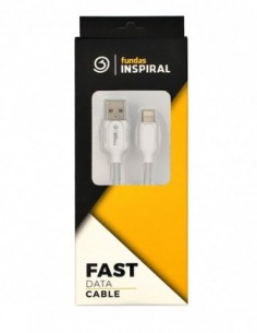Cable USB 2.0 A a Lightning (iPhone) Blanco