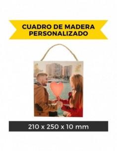 Cuadro de Madera Personalizado (21x25cm)