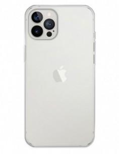 Funda Gel Silicona Liso Transparente para Apple iPhone 12 Pro Max