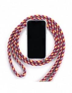 Cuerda para colgar el móvil Tricolor Rojo