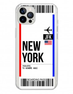 Funda Boarding Pass New York