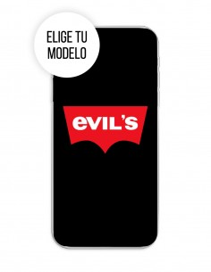 Funda Gel Silicona Varios - Evil's Negro