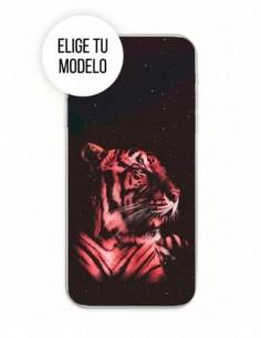 Funda Gel Silicona Animales - Tigre Universo