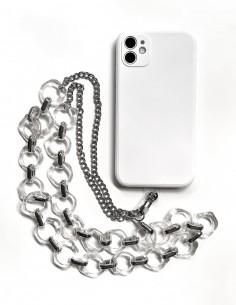 Cadena para colgar el móvil 06