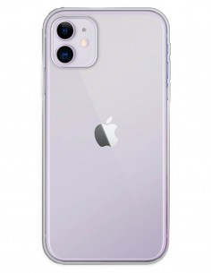Funda Gel Silicona Liso Transparente para Apple iPhone 11