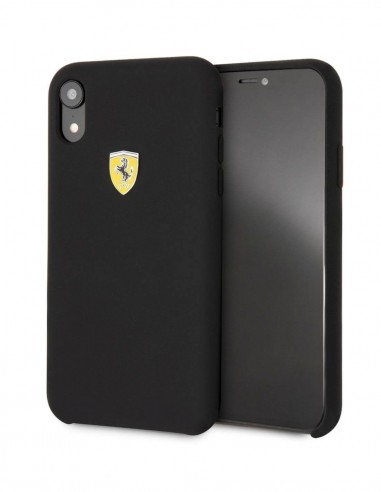 Funda Ferrari Hardcase Negro Apple iPhone XS