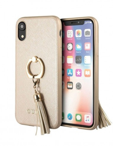 Funda Guess Anillo Marron Apple iPhone XR