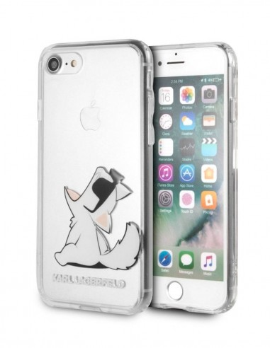 Funda Karl Lagerfeld Rigida Transparente Apple iPhone 7