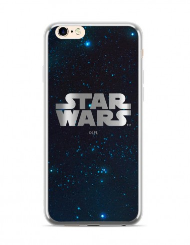 Funda Star Wars Luxury Plateado 003 Apple iPhone 6 Plus
