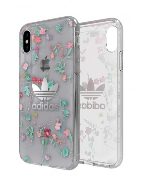 Funda Adidas Originals Clear Case AOP Colorido Apple iPhone X