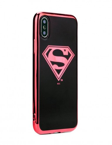 Funda DC Comics Luxury Superman 004 Apple iPhone XS Max