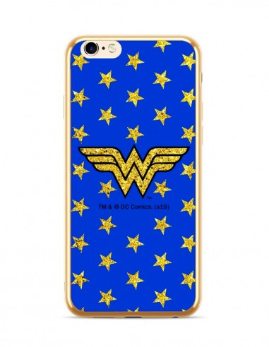 Funda DC Comics Wonder Woman Electro Glitter 015 Apple iPhone XS
