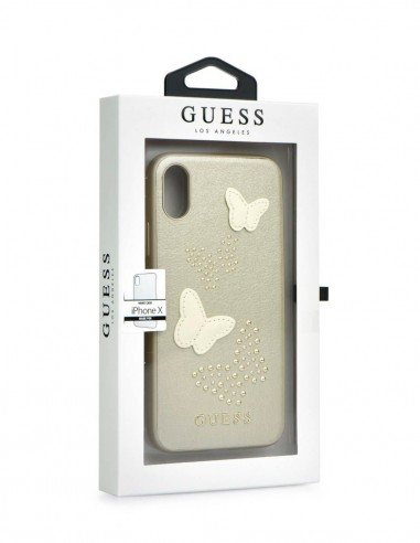 Funda Guess Beige Apple iPhone X