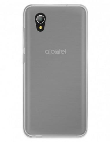Funda Gel Silicona Liso Mate para Alcatel 1