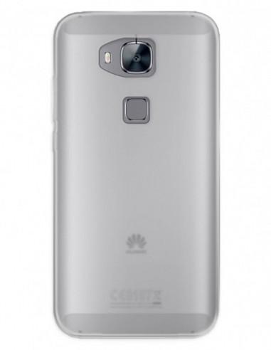 Funda Gel Silicona Liso Mate para Huawei G7 Plus
