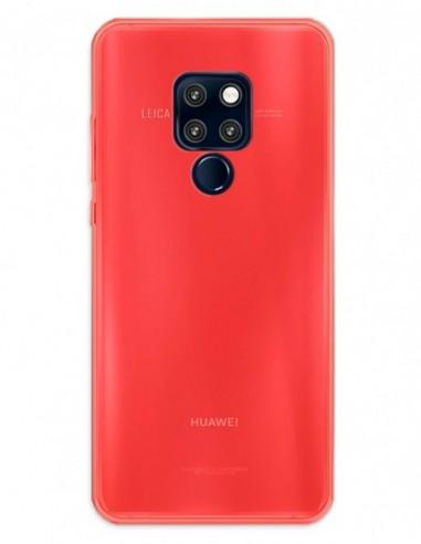 Funda Gel Silicona Liso Rojo para Huawei Mate 20