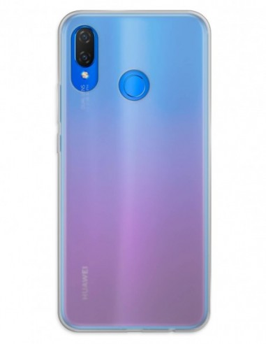 Funda Gel Silicona Liso Mate para Huawei P Smart Plus