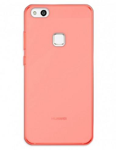 Funda Gel Silicona Liso Rojo para Huawei P10 Lite
