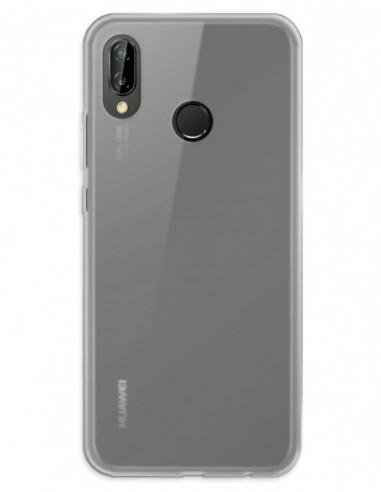 Funda Gel Silicona Liso Mate para Huawei P20 Lite