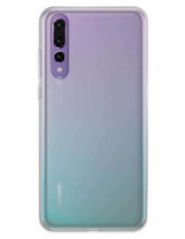 Funda Gel Silicona Liso Mate para Huawei P20 Pro